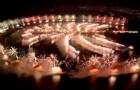 Ano novo em Dubai: espetáculo de fogos de artifício