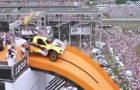 Weltrekord im Auto-Weitflug