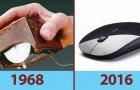 14 oggetti comuni che in pochi anni sono diventati irriconoscibili