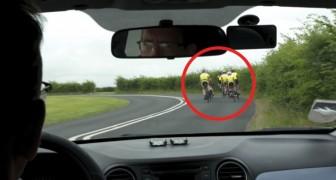 È giusto irritarsi quando i ciclisti pedalano in gruppo? Ecco cosa dice il codice stradale