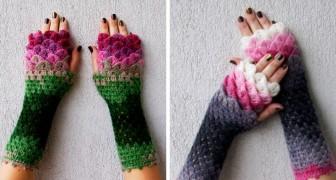 Guanti da Drago cuciti a mano: ecco l'accessorio invernale che sta conquistando il web!