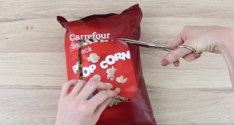 Three hacks for eating bagged snacks!