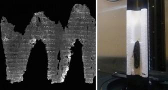 Miracoli della tecnologia: gli studiosi leggono un rotolo ebraico carbonizzato di 1400 anni fa