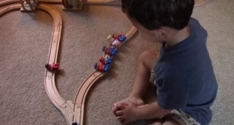 Which route should the train take? See this child's response!
