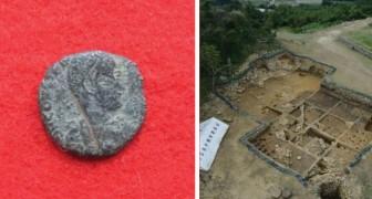 Emergono monete romane dalle rovine di un castello in Giappone: gli studiosi sono esterrefatti
