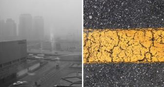 I ricercatori olandesi mettono a punto il primo asfalto che Mangia lo smog: ecco come funziona