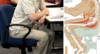Vous êtes assis plus de 3 heures par jour? Voici ce qui arrive à votre corps