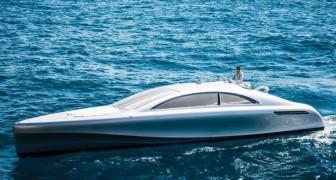 Deze Mercedes jacht kunnen maar weinig mensen zich veroorloven: wij nemen je mee voor een kijkje aan de binnenkant!
