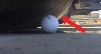 Testano la resistenza di una pallina da golf: l'esito dell'esperimento li lascia interdetti!