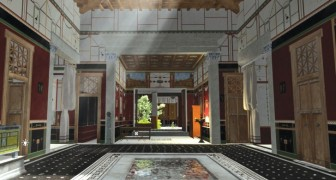 Tour a reconstructed 3D home in Pompeii.