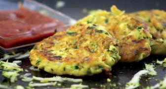 Prova queste frittelle di zucchine, sono semplici da fare e il sapore è indescrivibile