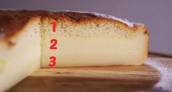 Torta Magica: la ricetta facilissima con una sorpresa finale tutta da assaporare