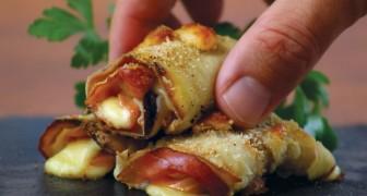 Rouleaux d'aubergine: une recette simple à présenter pour votre prochain apéro