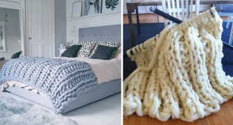 Check out this Giant DIY Fluffy Blanket!
