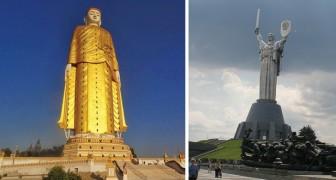 Quando l'arte si fa mastodontica: ecco quali sono le statue più alte del mondo