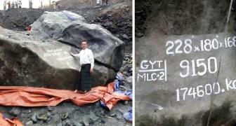 Mijnwerkers Vinden Een Gigantische Steen… Ze Kunnen Niet Geloven Hoeveel Hij Waard Is!