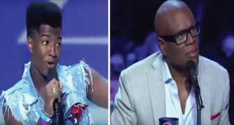Willie Jones stuns the crowd and the judges with this song ...