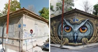 Voici comment la street art peut transformer l'apparence d'une ville... vraiment SYMPA