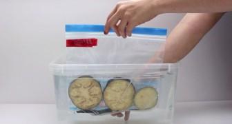 Um modo de simular o vácuo e conservar melhor os alimentos