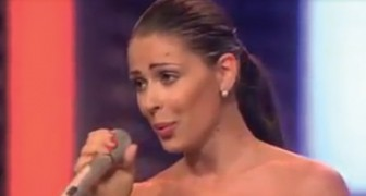 Eén van de mooiste stemmen van Italië die nog maar weinig mensen kennen: als je haar hoort zingen, krijg je kippenvel!