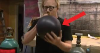 Ihr kennt die Wirkung von Helium, aber was passiert, wenn dieses GAS eingeatmet wird...