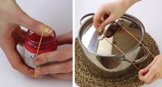 6 astuces incroyables avec les élastiques qui vous feront réévaluer leur utilité