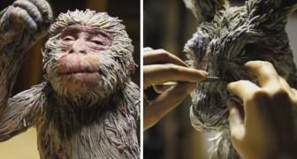 Crea a mano animali imbalsamati usando fogli di giornale: l'opera finale è impressionante