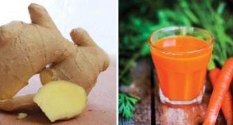 Succo di carota e zenzero: scoprite come prepararlo e quali sono i suoi benefici