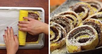 Rouleau au Nutella : voici comment faire ce gâteau très facile et amusant