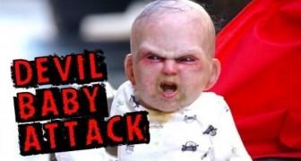 Bebê diabo aterroriza Nova York
