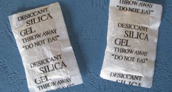 Wait! Do not throw away your silica gel packets!