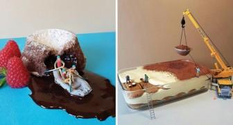 Un pasticcere italiano trasforma le classiche torte in opere d'arte... in miniatura
