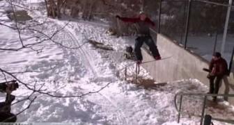 Quando lo snowboard diventa follia!