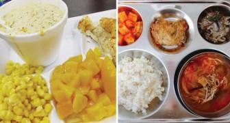 Viaggio nelle mense scolastiche: ecco cosa mangiano i bambini in varie parti del mondo