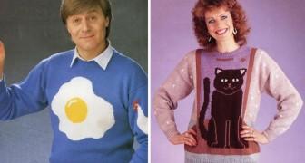 Voici quelques-uns des pires pulls des années 80: vous aurez honte de les avoir portés!
