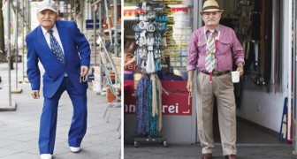 Una fotografa ritrae per 3 anni il sarto più elegante di Berlino: ogni giorno è uno spettacolo