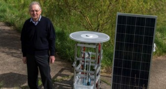 Ein Rentner erfindet einen Solarmotor, der 25 Jahre ohne Wartung funktioniert