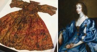 Des plongeurs trouvent au fond de la mer une robe en soie datant de 400 ans : à qui appartenait-elle?