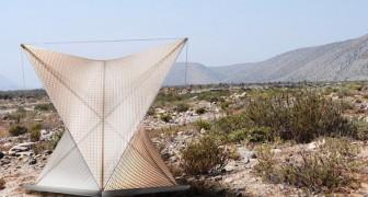 Ottenere acqua potabile dalla nebbia: ecco la pratica e leggera invenzione cilena