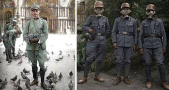 Queste rare foto ci mostrano la Prima Guerra Mondiale come non l'abbiamo mai vista