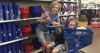 Ze wist niet hoe ze naar de supermarkt kon gaan met haar kind en nu is haar uitvinding in alle supermarkten te vinden!