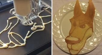 Der erste Drucker für Pancakes: hier könnt ihr sehen, was ihr zum Frühstück essen könnt