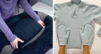 Discover some very useful hacks for old sweaters! Fantastic!