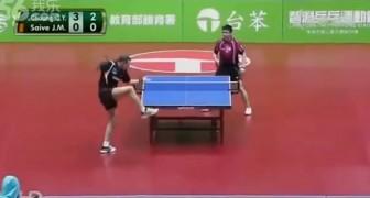 Die lustigste Tischtennis-Partie ever!