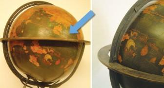 Il globo più antico del mondo ha un particolare curioso: riuscite a trovare l'America?