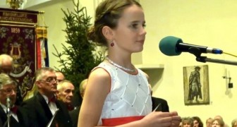 Kan een 11-jarig meisje iemand tot tranen roeren met haar stem? Luister naar haar optreden en oordeel zelf!