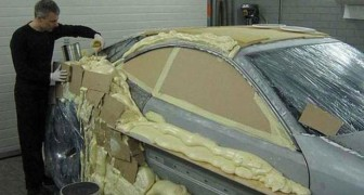 An amazing scrap car transformation! Check it out!