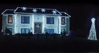 Amazing Christmas Home Light Show!