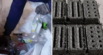 Ils réalisent des briques à partir du plastique: les résultats qu'ils obtiennent vont au-delà de leurs attentes