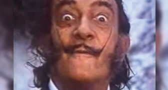 Salvador Dalì gör reklam för choklad: så här minns vi honom